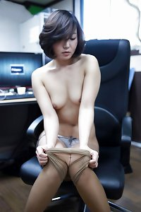 japanese office doll